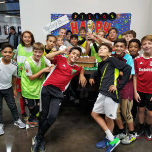 Soccer Hub Birthday Party